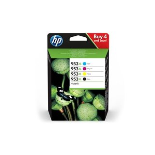 HP 3HZ52AE 953XL <br /> Multipack Tinte 4er Pack