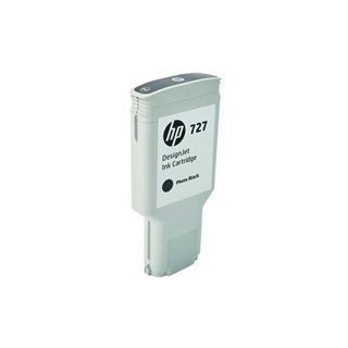 HP F9J79A No.727 <br /> Tintenpatrone 300ml <br /> photo-schwarz