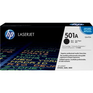 HP Toner No.501A Q6470A
