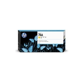 HP 766 Tinte P2V91A 300ml yellow