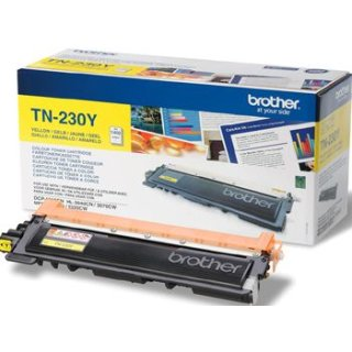 BROTHER Toner TN-230Y,, ca. 1.400 Seiten, yellow